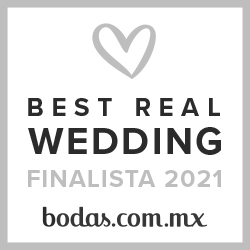 Finalista Best Real Wedding 2021 Bodas.com.mx
