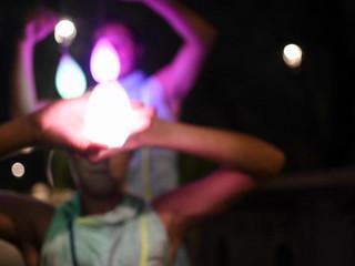 Ligthbeat show by Prana