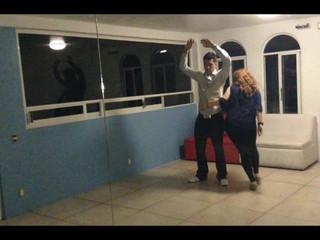 Primer ensayo vals de novios Brittany y Apolos
