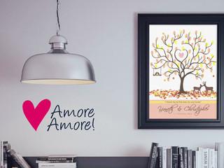 Árbol de huellas de Amore Amore