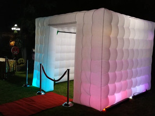 Cabina inflable LED