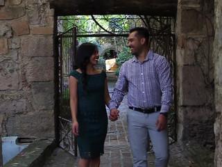 Alejandra y Sergio videoclip casual