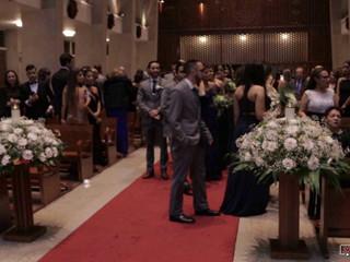Ceremonia religiosa de Verónica y Fernando
