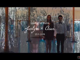 Jocelyn + César Save the date