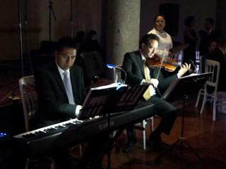 Violín y Piano Coldplay