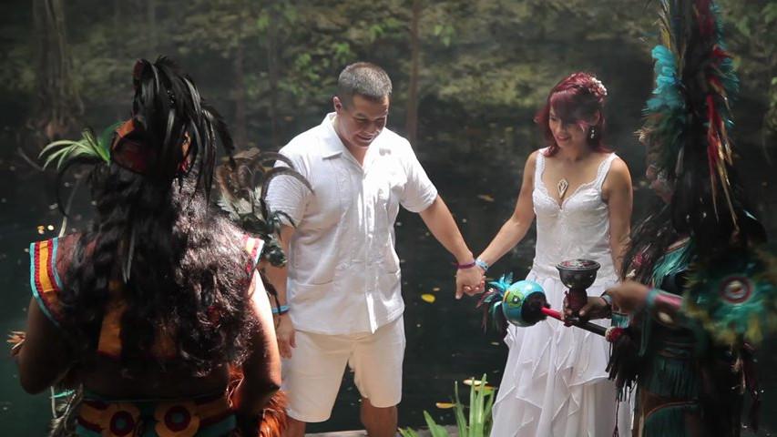 boda  u00cdntima maya  civil  renovaci u00f3n de votos y cena