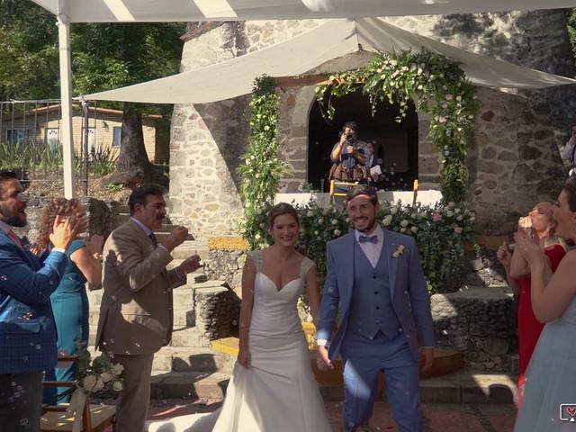 La boda de Luis y Enya en Tepoztlán, Morelos 1