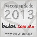 Recomendado en Bodas.com.mx