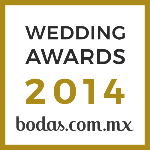 Ganador Wedding Awards 2014 Bodas.com.mx