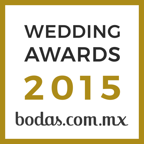 Diseño de Emociones, ganador Wedding Awards 2015 bodas.com.mx