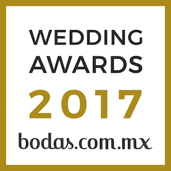 Ganador Wedding Awards 2017 Bodas.com.mx