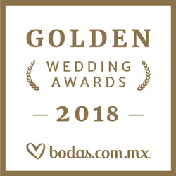 Ganador Wedding Awards 2018 Bodas.com.mx