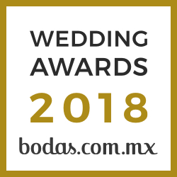Quinta Las Jacarandas, ganador Wedding Awards 2018 bodas.com.mx