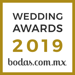 Quinta Las Jacarandas, ganador Wedding Awards 2019 Bodas.com.mx