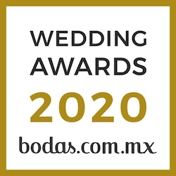 Rebecca Aldama, ganador Wedding Awards 2020 Bodas.com.mx