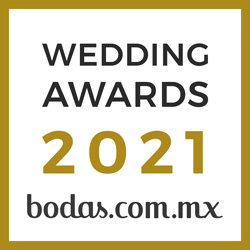 Ganador Wedding Awards 2021 Bodas.com.mx