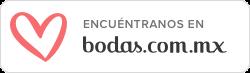 Búscanos en Bodas.com.mx